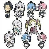 Re:ゼロから始める異世界生活 ラバーストラップコレクション 9個入りBOX