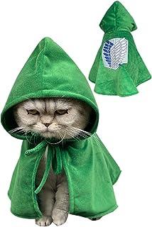 Scout Regiment Cloak Dog Cat Survey Corps Robe Cape Hoodie Anime Pet Outfit