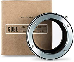 Gobe Lens Mount Adapter: Compatible with Contax/Yashica (C/Y) Lens and Sony E Camera Body