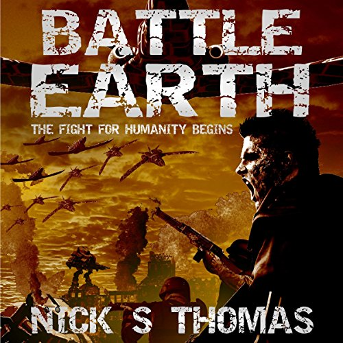 Battle Earth audiobook cover art
