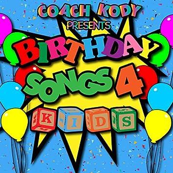 Birthday Songs 4 Kids