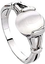 LUREME Fashion Alloy Twilight Saga Bella Natural Cateye Stone Women's Ring (04001479)