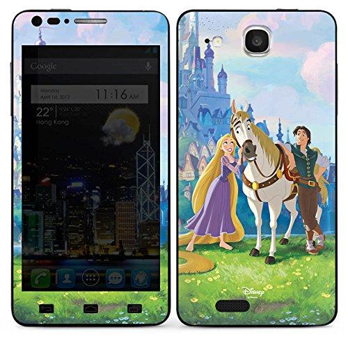 DeinDesign Alcatel One Touch Idol Ultra Case Skin Sticker aus Vinyl-Folie Aufkleber Disney Rapunzel verföhnt Merchandise Geschenke