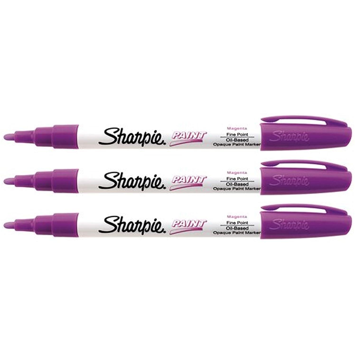 Fine Point Paint Marker [Set of 3] Color: Magenta