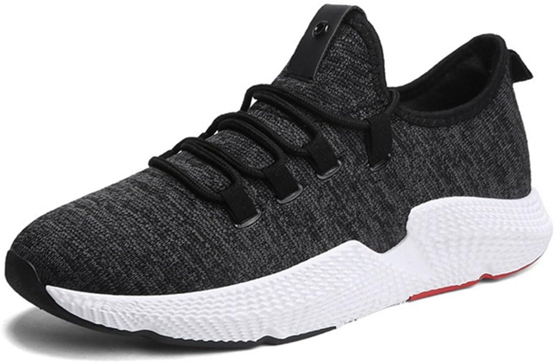 RENMEN Spring Summer Sports Casual Men Fashion Jog Tide shoes Running shoes 39-43, black