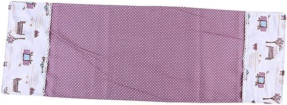 Miner Bolsillos Dobles Cubiertas contra el Polvo Cubierta Microondas Horno Campana Resistente al Desgaste Suave Polvo contra la contaminación por Aceite Accesorios de Cocina, Rosa