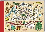 Mein Adventszauber: 24 Postkarten zum Ausmalen