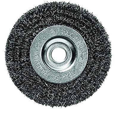 Century Drill and Tool Coarse Bench Grinder Wire Wheel