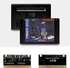 Royal Retro Phantom 2040 EUR Label Flashkit MD Electroless Gold PCB Card pour Sega Genesis Megadrive Console de jeu vidéo...