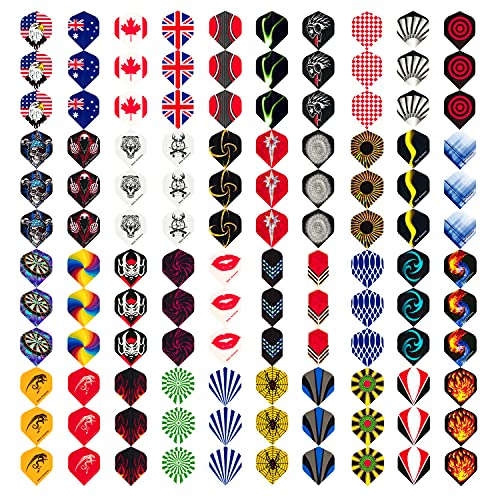 Wolftop Standard Dart Flights 40 Sets 120 Pcs -...