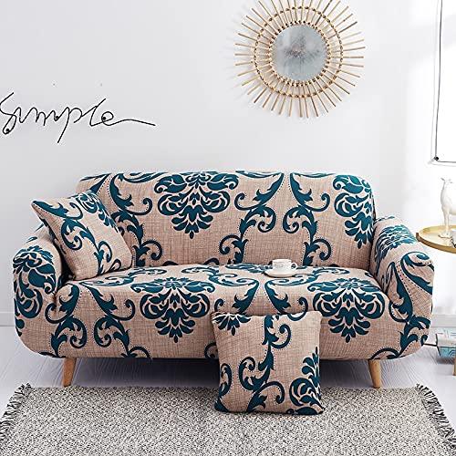 Funda de sofá elástica para sillón, Funda de sofá elástica de Spandex para Sala de Estar, Funda Protectora Universal A5, 3 plazas
