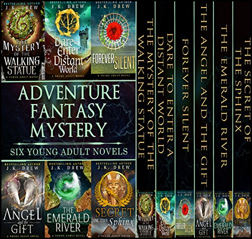 Adventure, Fantasy and Mystery (Six Book Boxed Set) audiobook cover art
