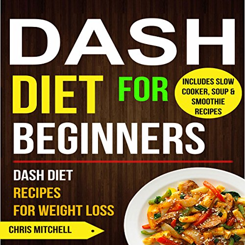 Dash Diet for Beginners cover art