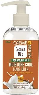 Creme Of Nature Coconut Milk Moisture Curl Hair Milk 8.3 Ounce (245ml)