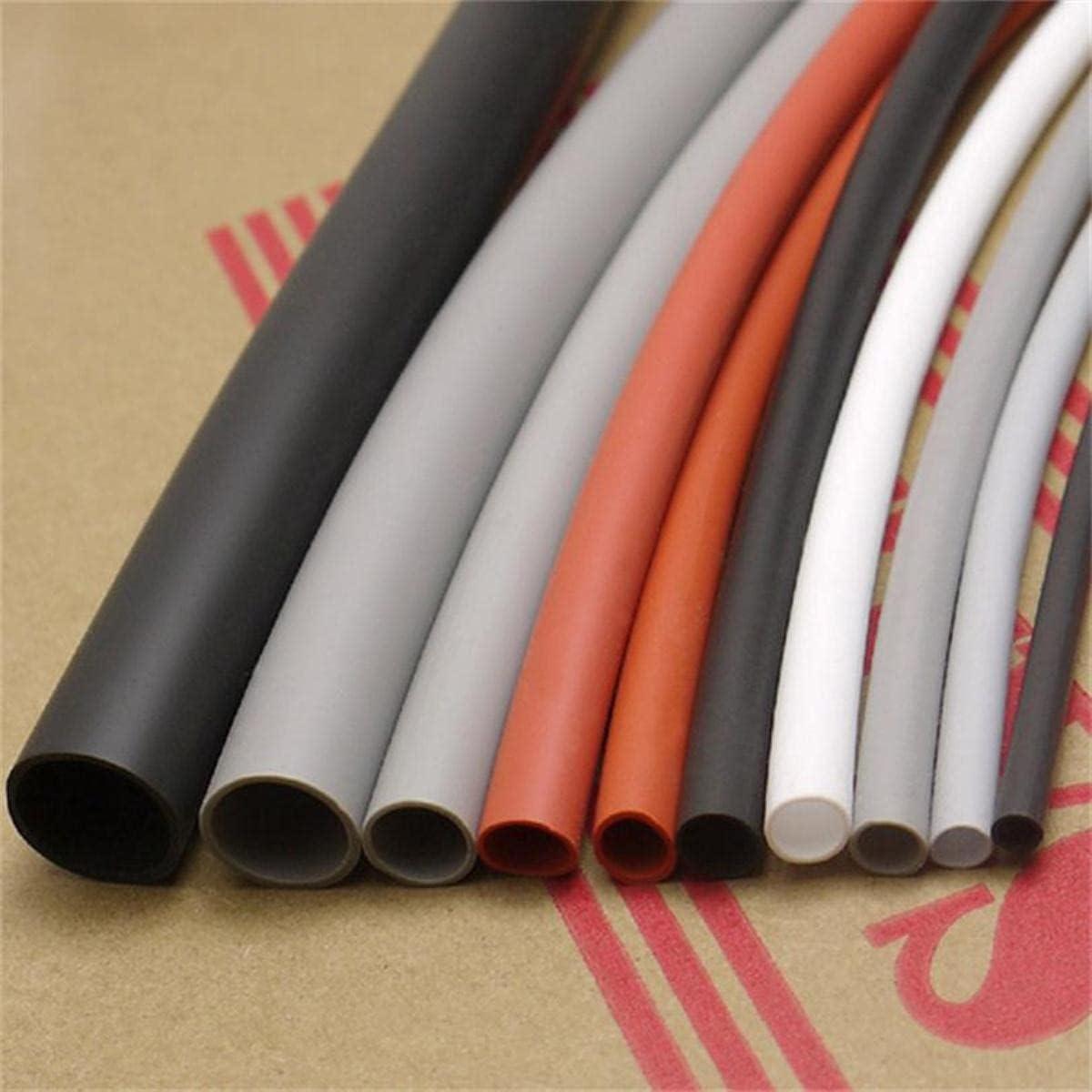 3 mm Flexible Soft 1.7: 1 Silicona Tuber¨ªa termocontra¨ªble Caucho de silicona - 2/5/10 Metros-Azul, 10 Metros