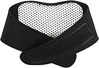 Refaxi Self Heating Neck Wrap Heat Brace Support Strap Pain Ache Relief Collar Strain