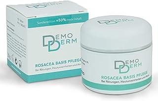 DEMODERM Basis Creme wohltuend bei Rosacea, Pickel, Akne und geröteter Haut – 30 g..