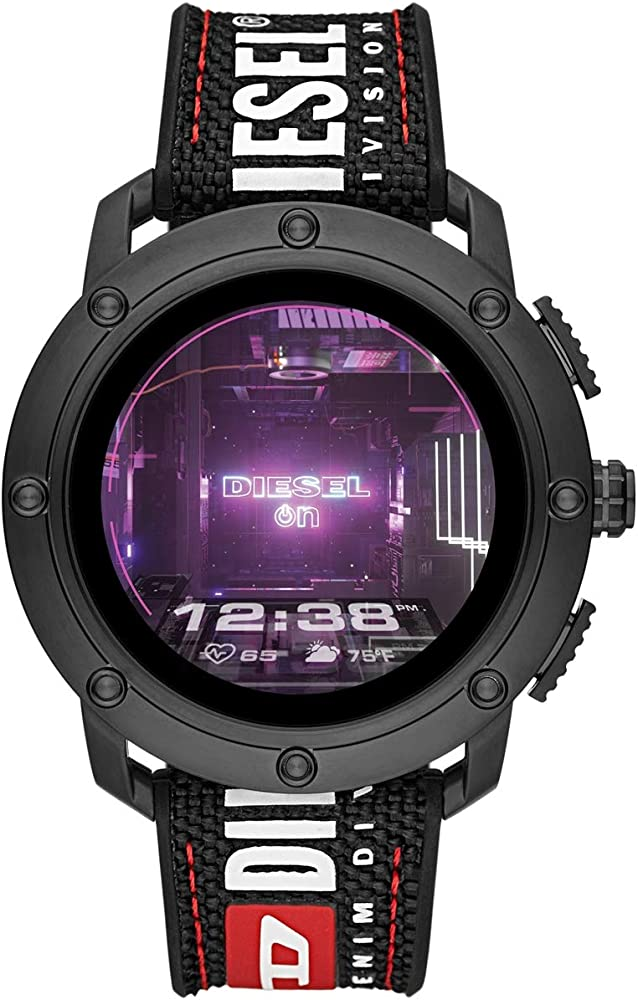 Diesel,smartwatch  touchscreen con wear os di google,on connect axial gen 5 DZT2022
