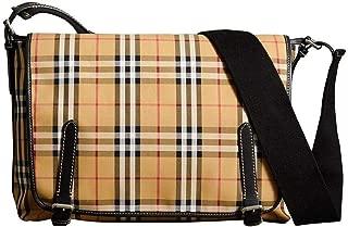 Luxury Fashion | Burberry Mens 4074360 Beige Briefcase | Season Permanent