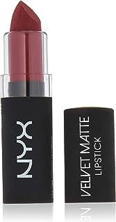 NYX Professional Makeup Velvet Matte Lipstick, Volcano, 0.14 Ounce