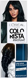 L'Oreal Paris Colorista Coloración Temporal Tono Washout Denim Hair - 116 gr