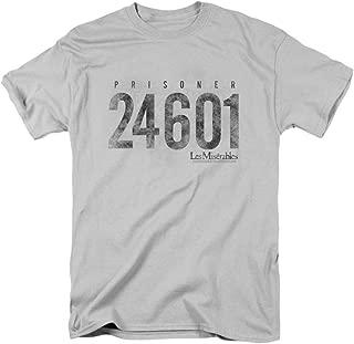 LES Miserables Prisoner T-Shirt LES Mis Musical Theatre Tee