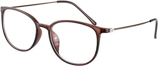 Leesbril Blauwlichtblokkerende Lezer Multifocale Bril, Retro Stijlvolle Leesbril voor Heren en Dames Met Volledig Montuur,...