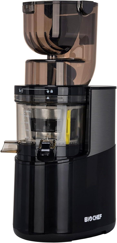 tienda en linea BioChef Atlas Whole Whole Whole Slow Juicer Pro – Extractor de zumos, 400 Watts, 40 RPM, licuadora en frío. Garantía de por vida en el motor. (Negro)  servicio honesto