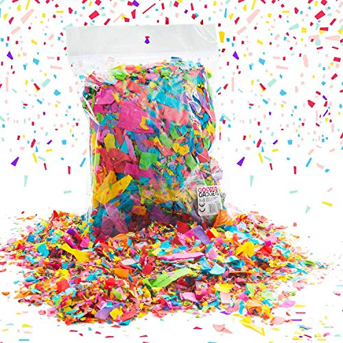 Folat - Confeti de papel con diseño de lluvia (50 g, respetuoso con el medio ambiente, papel crepé reciclado)