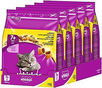 Whiskas chat Adult Croquettes Nourriture pour chat 5x800g