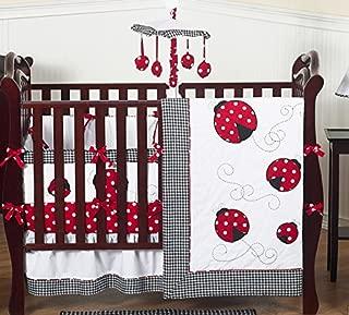 ladybug bassinet bedding