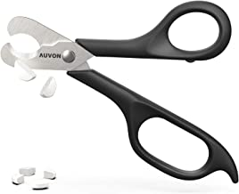 AUVON Scissors-Shaped Pill Cutter, Sharp Blade Pill Splitter for Accurately Dividing Various Size of Vitamins, Tablets and Medications in Half