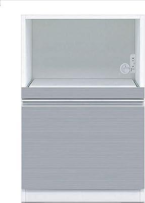 共和産業(Kyowa-sangyo) 食器棚 シルバー 【幅60×高さ89.5cm】
