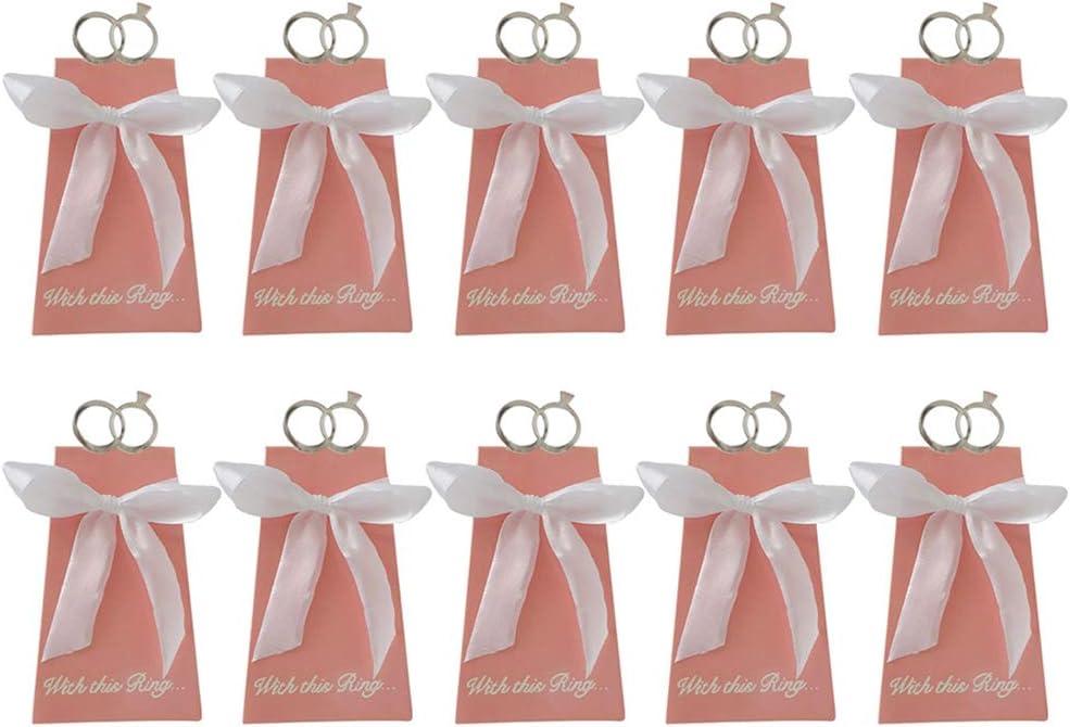 YEZININHAO Gift Boxes 10Pcs European Cookies Popular product Ring Chocol Nippon regular agency Diamond
