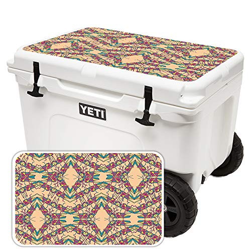 MightySkins (Cooler Not Included) Skin Compatible with Yeti Tundra Haul Cooler Lid - Grass Hopper | Protective, Durable, and Unique Vinyl Decal wrap Cover | Easy to Apply | Made in The USA