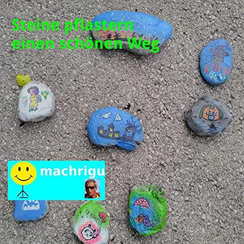 Steine pflastern einen schönen Weg