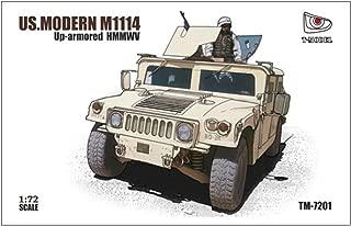 T-Model 1:72 US. Modern M1114 up-armored HMMWV TM-7201