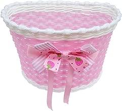 dise/ño de Princesas Disney 35055 Cesto para bicicleta infantil color rosa