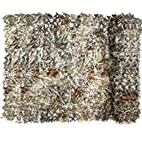 Yeacool Camouflage Netting,Military Camo Tarp Mesh Net,Great for Party Decoration,Duck Hunting Blind,Car Cover(Dry Grass 6.5ftx5ft)
