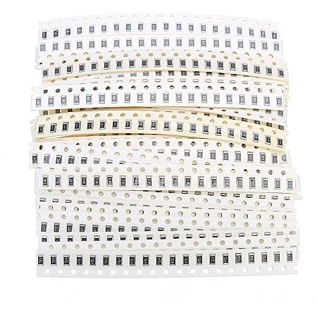 100 Stück 1 Ohm 1R0 1206 5/% 1//4W 0,25W SMD Widerstände Chip Resistors 3216