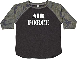 Air Force - Military Armed Forces Soldier Toddler/Kids Raglan T-Shirt