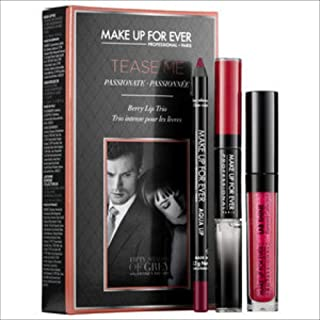 Make Up For Ever Tease Me Lip Set: Inspired By The Movie Fifty Shades Of Grey Limited Edition