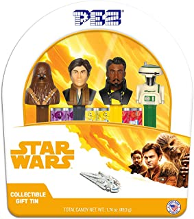 PEZ Candy Candy Candy Star Wars Han Solo Gift Tin, 14.5 Oz
