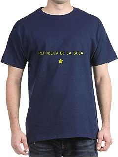CafePress Republica De La Boca Classic 100% Cotton T-Shirt