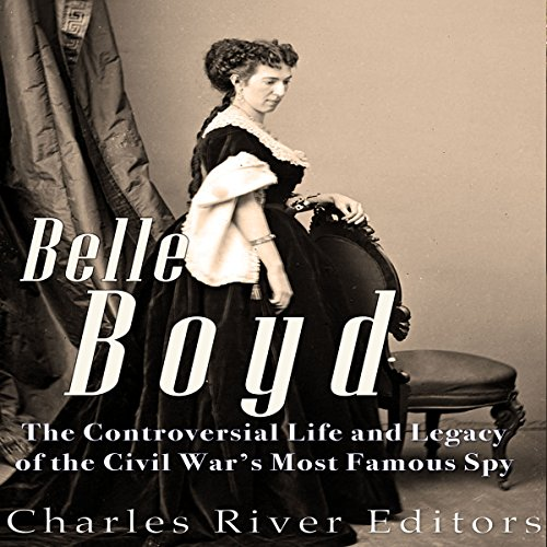 Belle Boyd audiobook cover art
