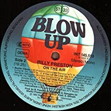 Billy Preston - On The Air - Blow Up - INT 145.513
