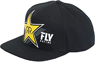 Fly Racing Rockstar Hat (Black/Yellow)
