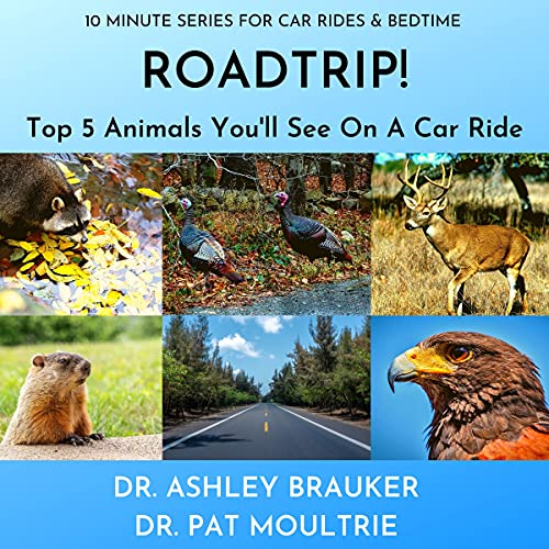 ROADTRIP! Top 5 Animals You'll See On A Car Ride: Fun & Educational Short Books For Kids (10 Minute Series For Car Rides & Bedtime) (English Edition)