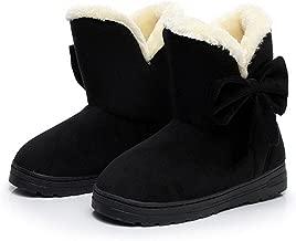 Gimekiss Pumps Classic Beautiful Thicken Super Soft Lining Bowtie CN Size 35-40 Women Snow Boots