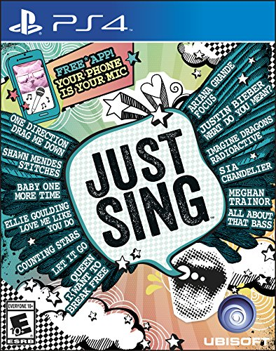 Just Sing - PlayStation 4 Standard Edition